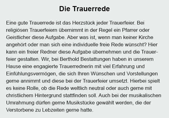 Anonyme Bestattung für 71157 Hildrizhausen
