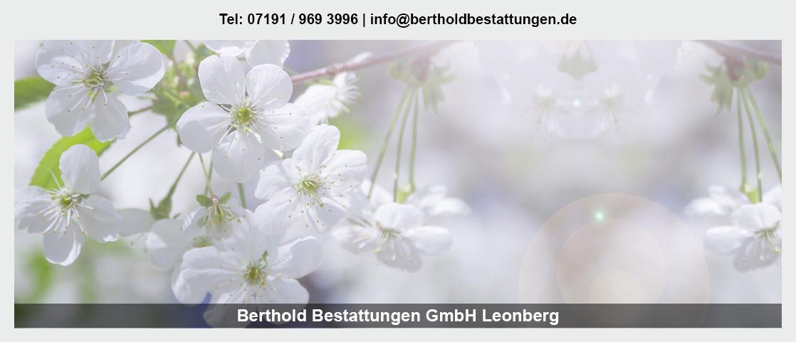 Bestattungen in Lauterach - Berthold Bestattungen GmbH: Erdbestattung, Naturbestattung