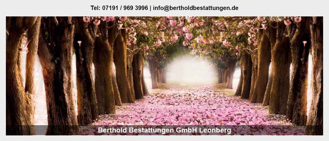 Bestattungen für Burgstetten - Berthold Bestattungen GmbH: Erdbestattung, Feuerbestattung