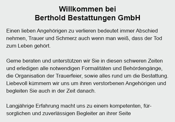 Bestattungen aus  Birenbach, Lorch, Eislingen (Fils), Ottenbach, Börtlingen, Wäschenbeuren, Rechberghausen und Wangen, Adelberg, Göppingen